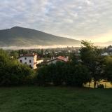<p>Smukt sceneri fra morgenstunden lige udenfor SJPdP</p>