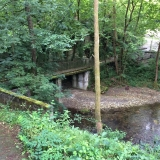 <p>Den grimme bro over til Valcarlos</p>
