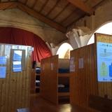 <p>Det kommunale herberg i Sahagun.  I en gammel kirke</p>