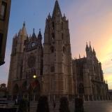 <p>Katedralen i morgenlys</p>