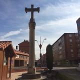 <p>Kors der markere slutningen af byen, herefter var det industriområde</p>