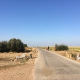 <p>På vej ud af Villar de Mazarife</p>