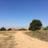 <p>På vej ind i Villavante</p>