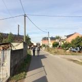 <p>På vej ind i Camponaraya</p>