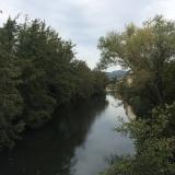 <p>Rio Cua udenfor Cacabelos</p>