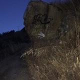 <p>Spøgelsestegn til pilgrimmen i mørket</p>