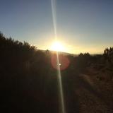 <p>Solen er oppe</p>