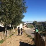 <p>På vej ind i Biduedo</p>