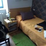 <p>Mit eget værelse. Ren luksus på Caminoen </p>