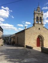 <p>Kirke i Sarria, hvor jeg fik et ekstra pilgrimspas</p>