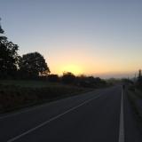 <p>solen kommer op nær Toxibo</p>