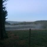 <p>Tåge over bakkerne</p>