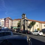 <p>Kirken i Melide</p>