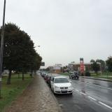 <p>Så startede regnen og vi kom ind i San Lazaro</p>