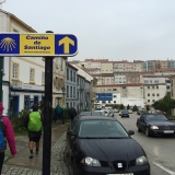 <p>Skilte som disse overalt i Santiago</p>