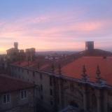 <p>Morgenudsigt fra herberget</p>