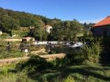<p>vandfald ved A Ponte Maceira</p>