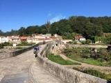 <p>Broen over til A Ponte Maceira</p>