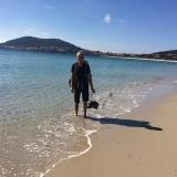 <p>Pilgrim i strandkanten</p>