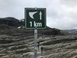 <p>yeah, 1 kilometer to go</p>