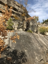 <p>																																		Moved a bit of the path and passed cliffs like this all the time</p>