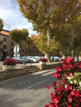 <p>																																		The Main Street of Annot on my way back to the station</p>